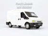 White Transit Van 1/43 Scale Diecast Metal Model by Cararama
