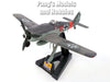 "Fw-190 (Fw-190A) ""Red 19"" German Fighter German Fighter 1/72 Scale Assembled and Painted Model by Easy Model"