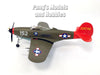 P-39 Aircobra (Airacobra) Red Tails 1/72 Scale Assembled and Painted Model by Easy Model