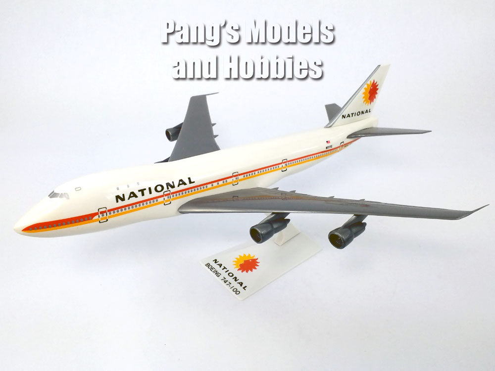 Boeing 747 (747-100) National Airlines 1/250 Scale Plastic Model by Flight Miniatures