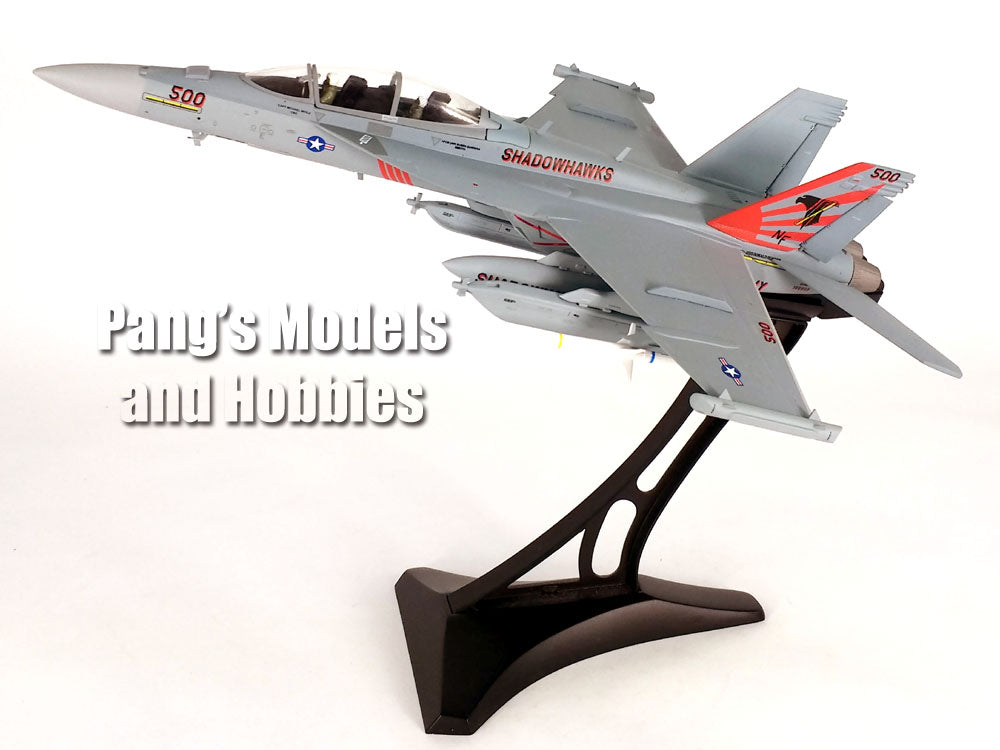 EA-18G (F-18) Super Hornet - Growler VAQ-141 Shadowhawks - 1/72 Scale diecast metal model by JC Wings