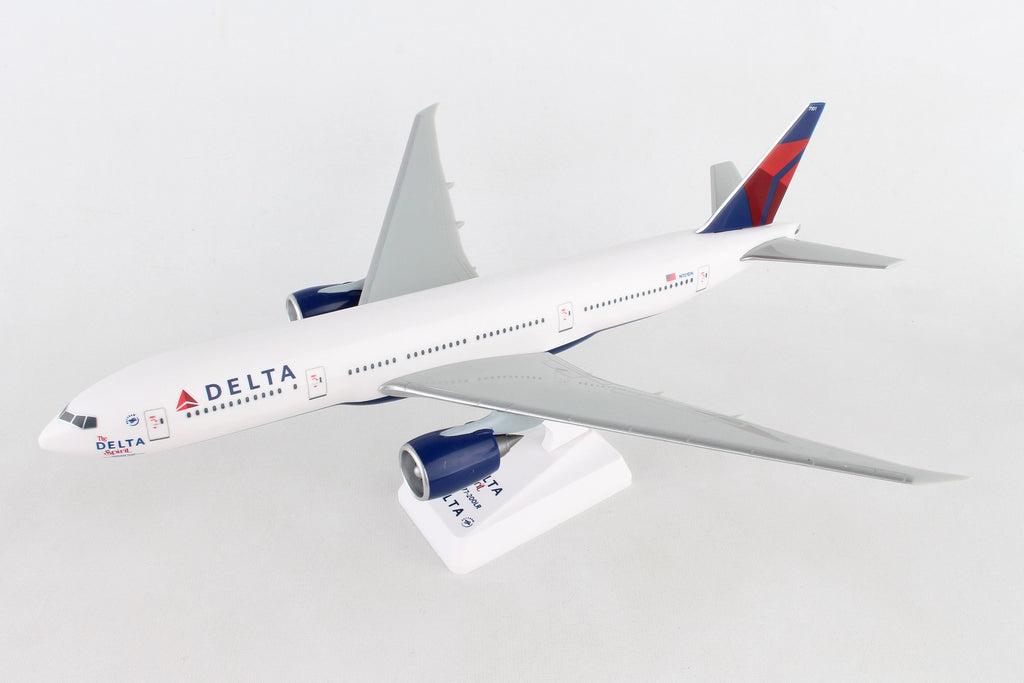 "Boeing 777-200LR (777, 777-200) Delta Airlines ""The Spirit of Delta"" 1/200 Scale Model by Flight Miniatures"