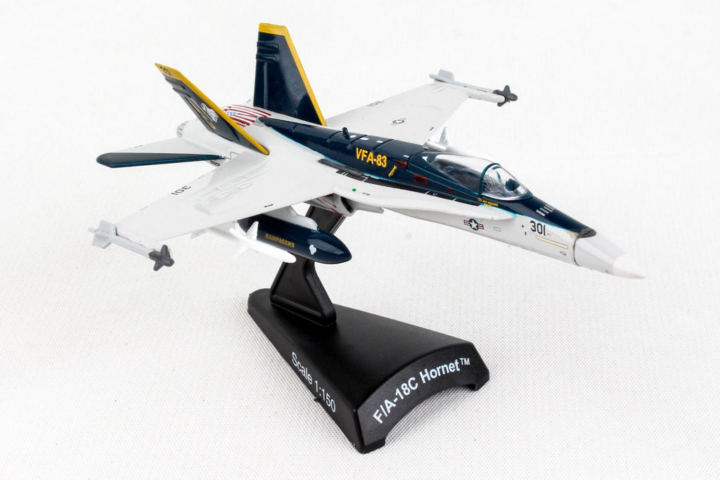 Boeing F/A-18C (F-18) Hornet VFA-83 Rampagers 1/150 Scale Diecast Metal Model by Daron