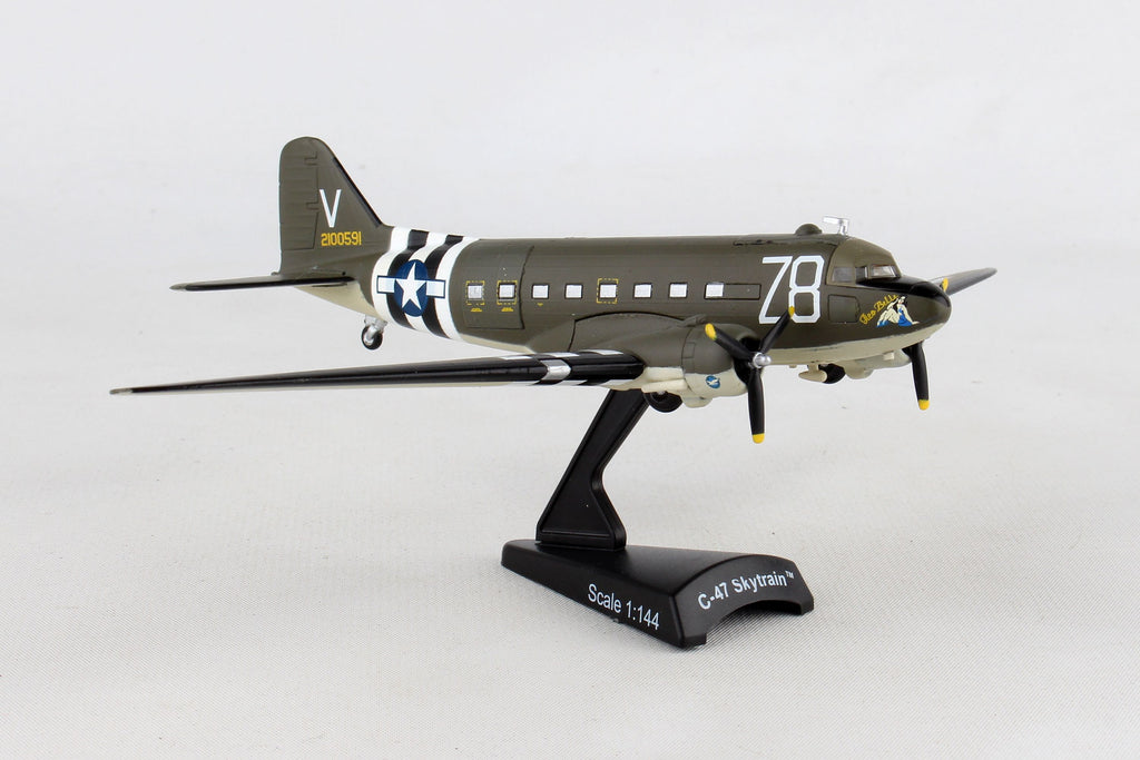 "Douglas C-47 (DC-3) Skytrain / Dakota – ""Tico Belle"" 1/144 Scale Diecast Model by Daron"
