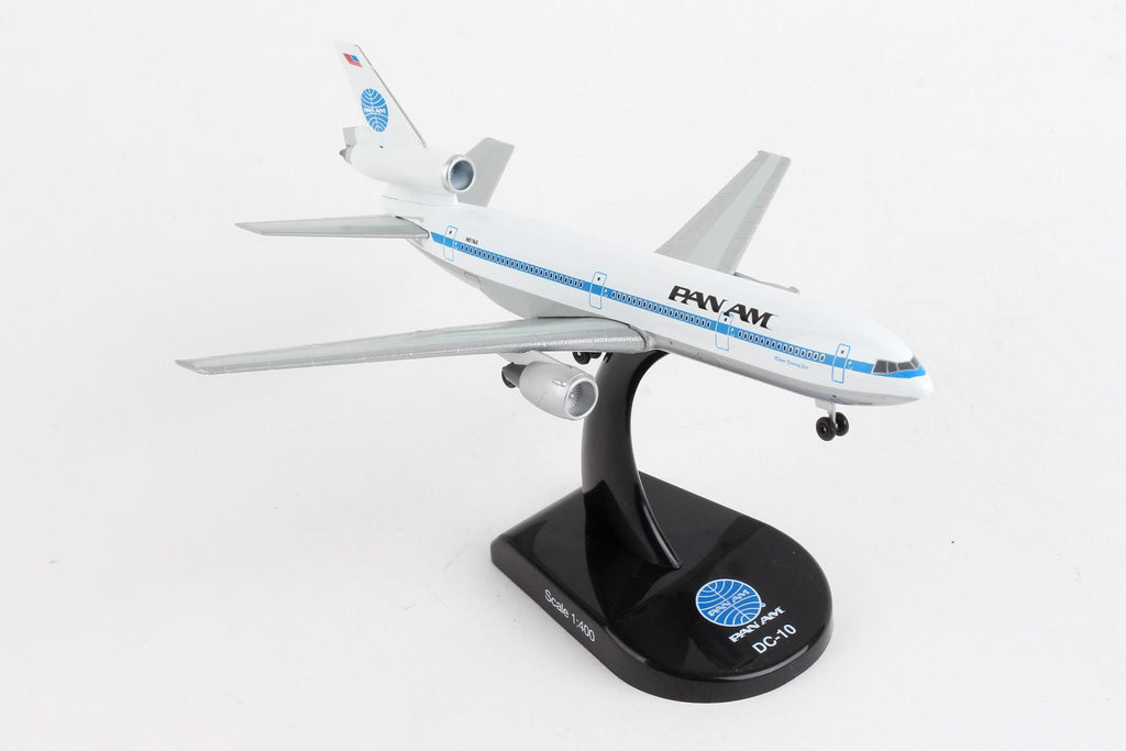 McDonnell Douglas DC-10 Pan American Airlines - Panam 1/400 Scale Diecast Metal Model by Daron