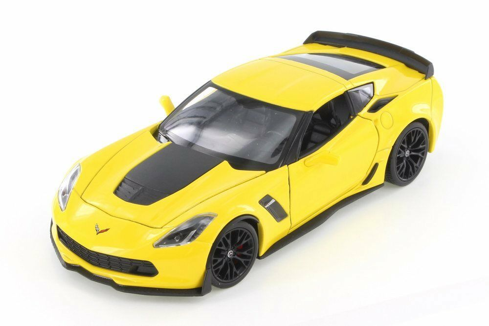 Chevrolet Corvette Z06 (2017) 1/24 Diecast Metal Model by Welly