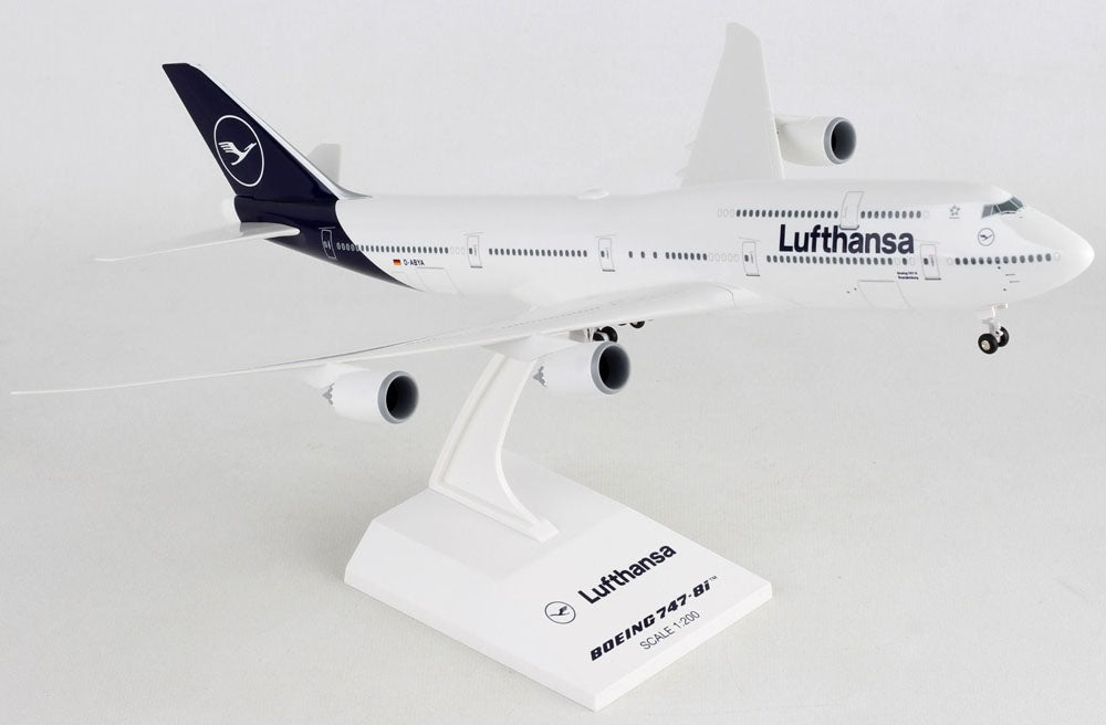 Boeing 747-8i (747-8) Lufthansa 1/200 Scale Model by Sky Marks