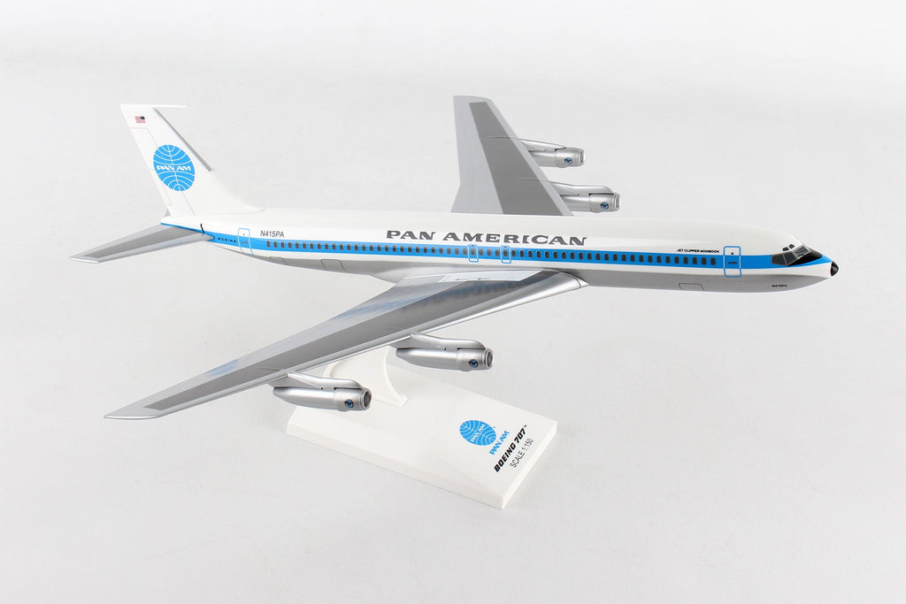 Boeing 707 Pan Am (Pan American Airlines) 1/150 Scale Model by Sky Marks
