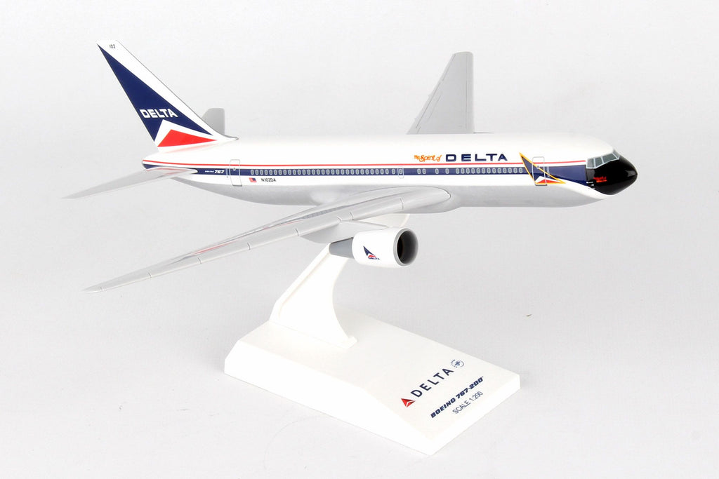 "Boeing 767-300 (767) Delta Airlines ""The Spirit of Delta"" 1/200 Scale by Sky Marks"