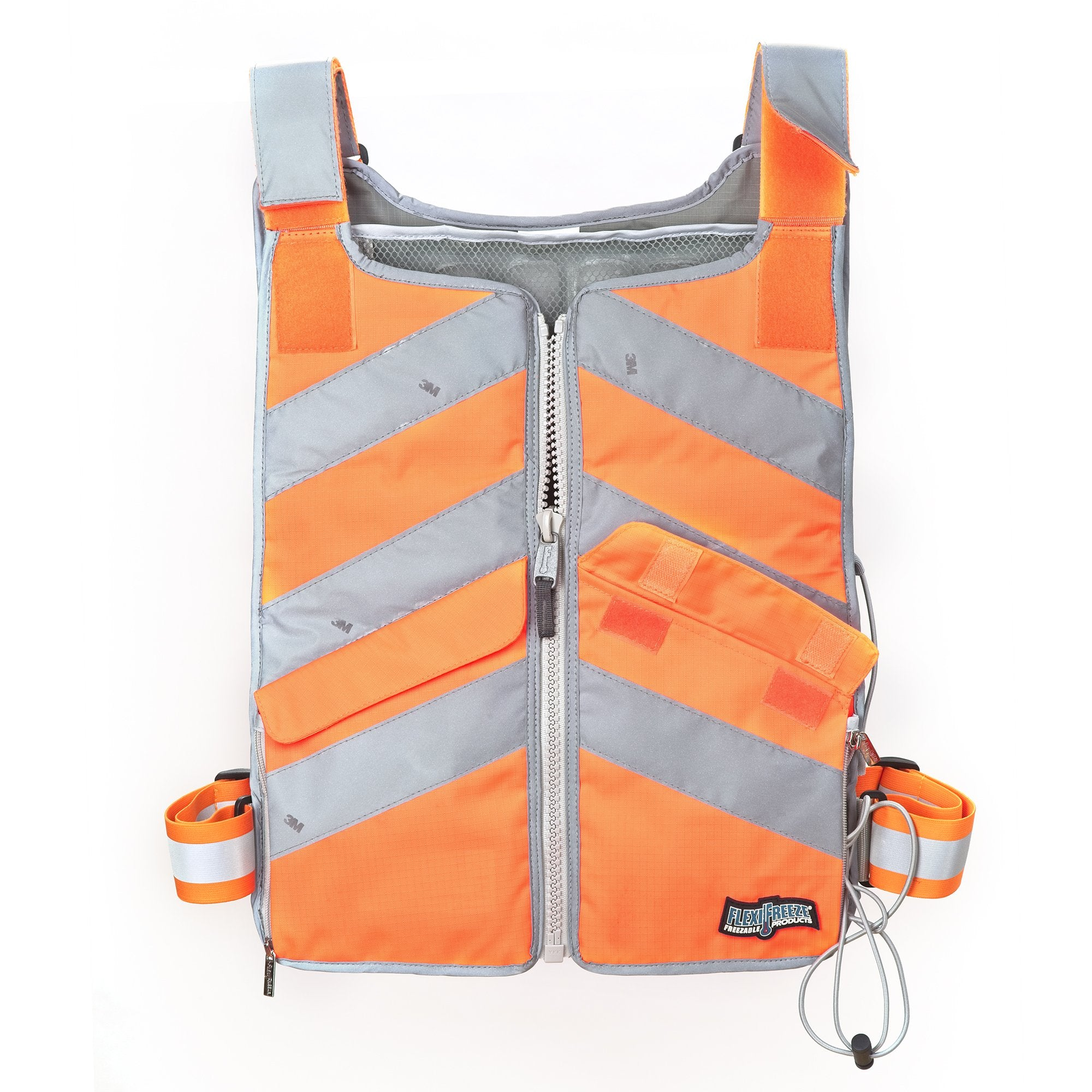 FlexiFreeze Professional Series Ice Vest - Hi-Vis Orange