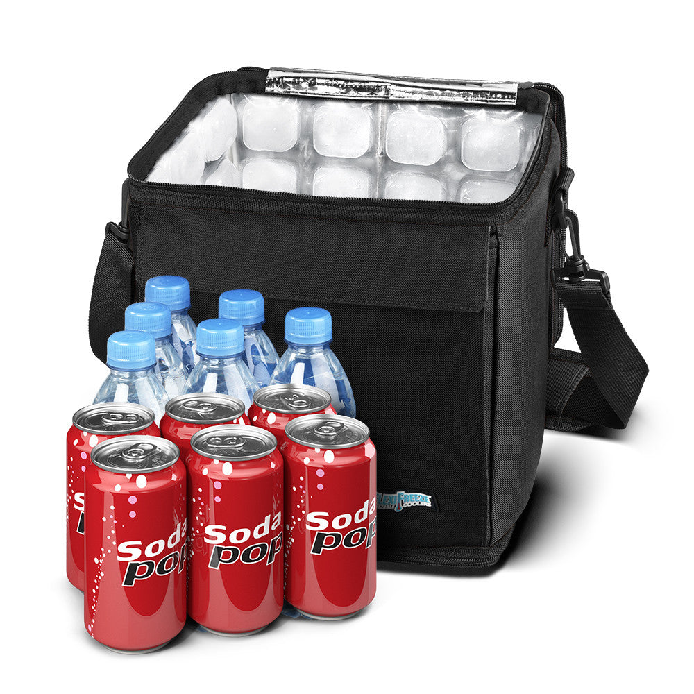 18 Can Cooler, Black
