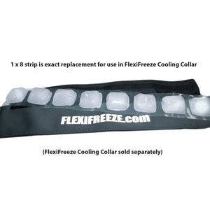 FlexiFreeze 8 cube ice strip, 12 pack