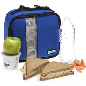 Lunch Box Cooler, Royal Blue