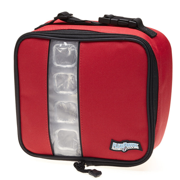 Lunch Box Cooler, Red
