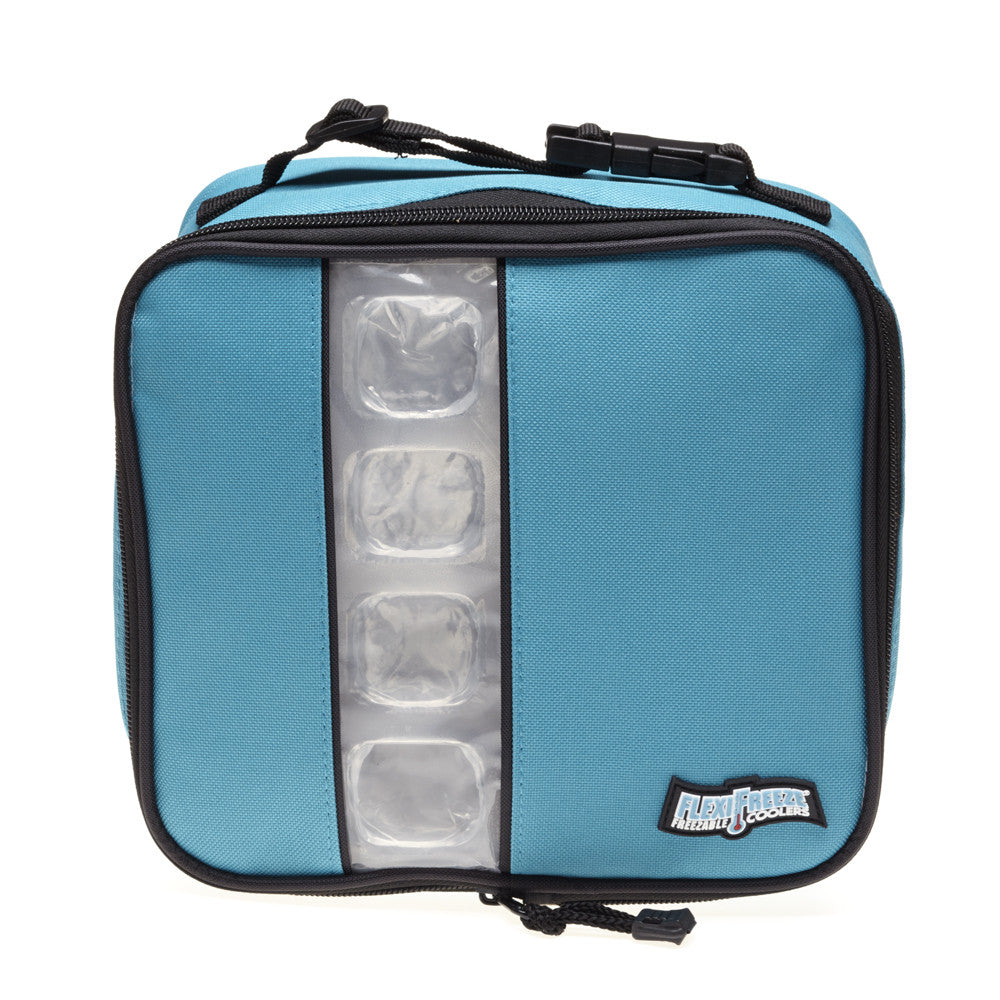 lunch box cooler lunch box cooler teal blue flexifreeze 12984