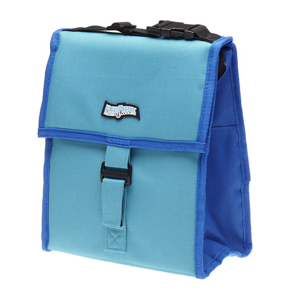 Lunch Tote Cooler, Teal/Blue