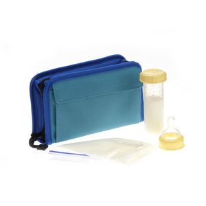 Pocketbook Cooler, Teal/Blue