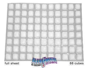 FlexiFreeze Ice Sheet - Full case of 12 (88 cubes)