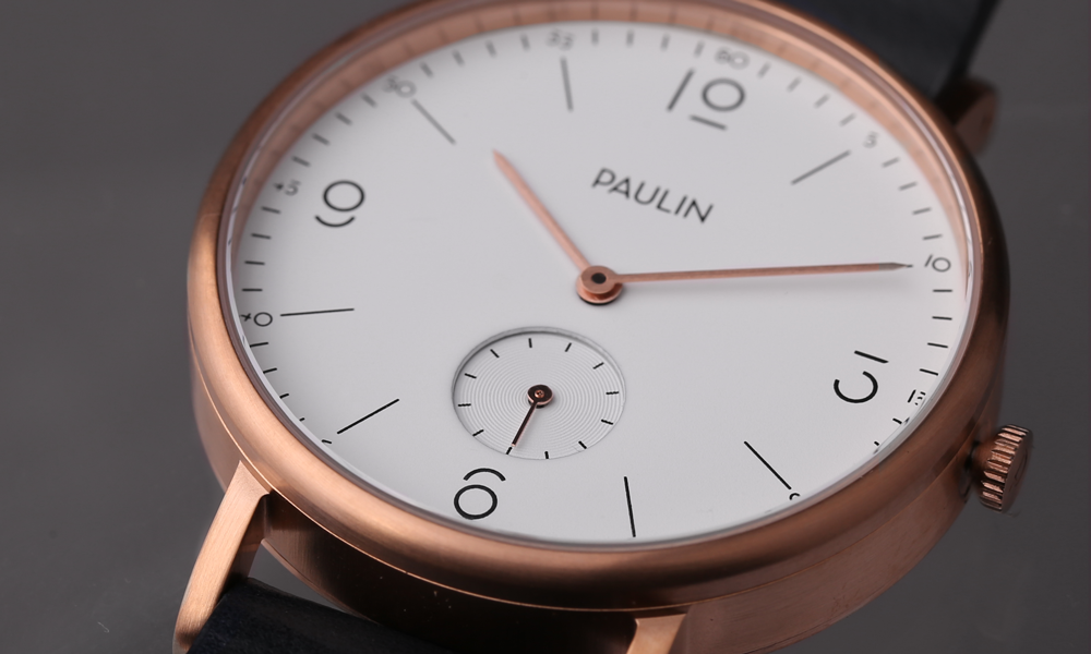 Paulin Launches New Typeface (and Watches)