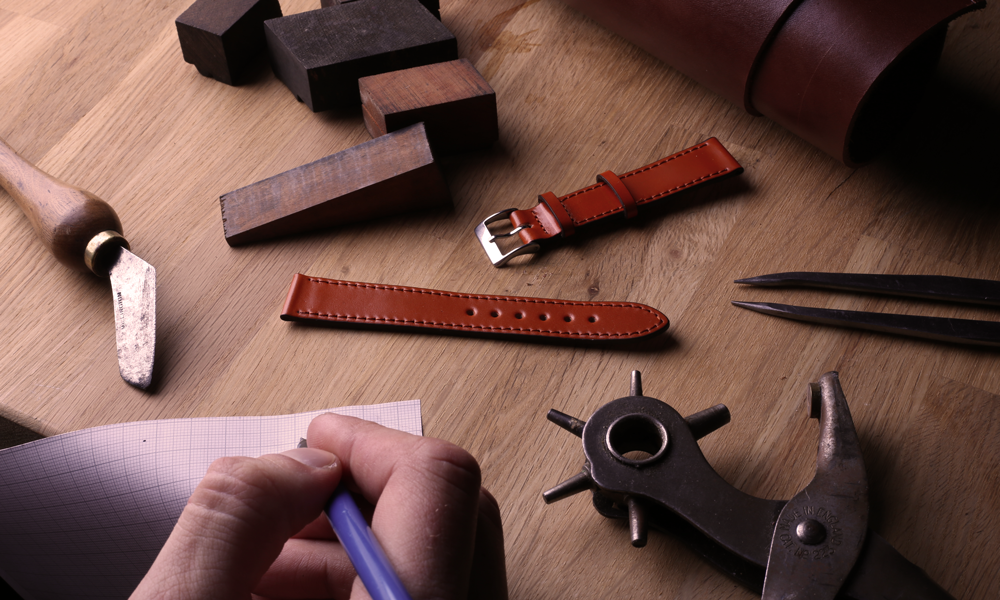 Selection of handmade straps