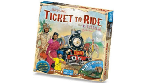 Ticket to Ride: India/Zwitserland