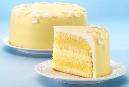 White Chocolate Lemon Cake