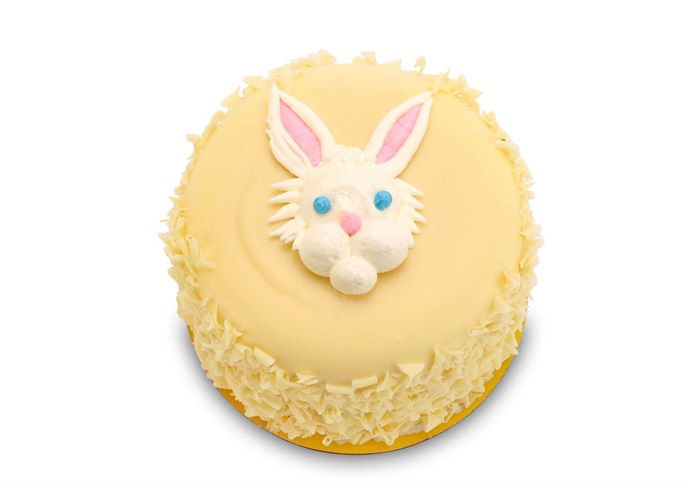 "White Chocolate Lemon - Easter Bunny (5"" Round)"