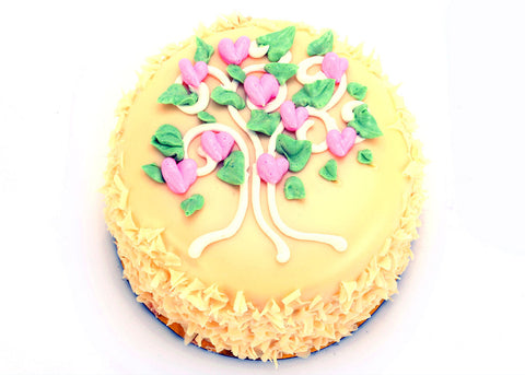 White Chocolate Lemon - Heart Tree (5