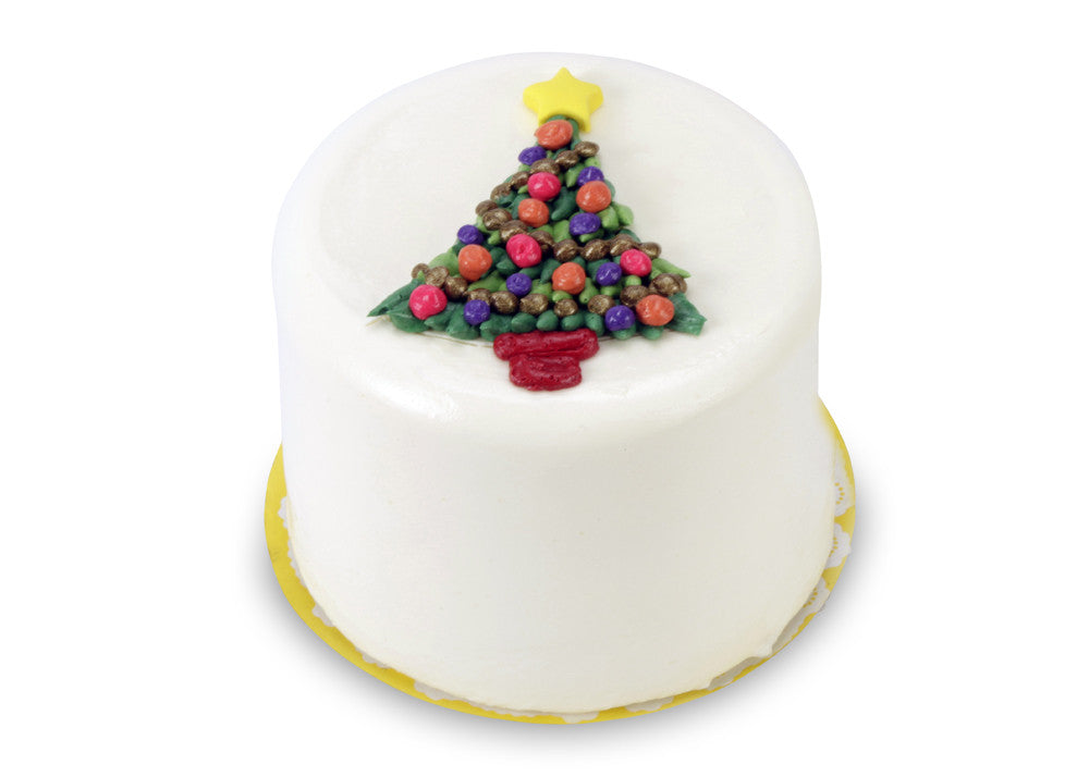 "5"" Triple Berry Cake Christmas Tree"