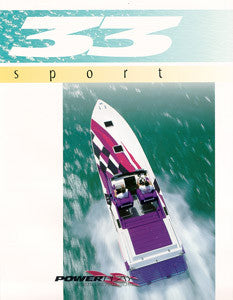 Powerplay 33 Sport Brochure