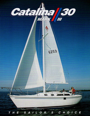 Catalina 30 Mark III Brochure