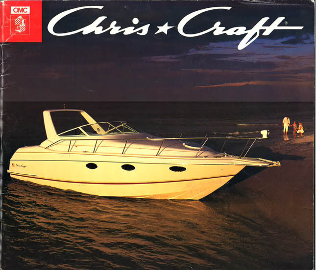 Chris Craft 1992 Large Brochure