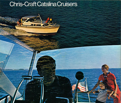 Chris Craft 1970 Catalina Cruisers Brochure