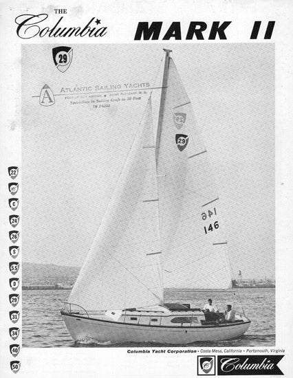 Columbia 29 Mark II Brochure Package