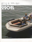 Chris Craft 1983 Sport Decks Brochure