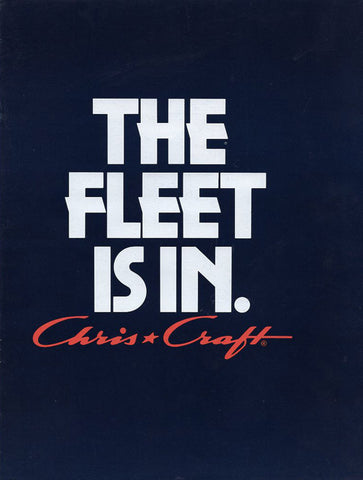 Chris Craft 1983 Full Line Brochure