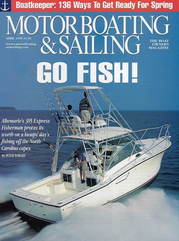 Albemarle 305 Express Motorboating & Sailing Magazine Reprint Brochure