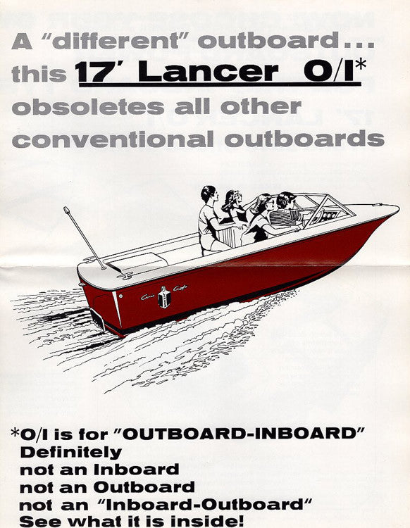 Chris Craft Lancer 17 O/I Brochure
