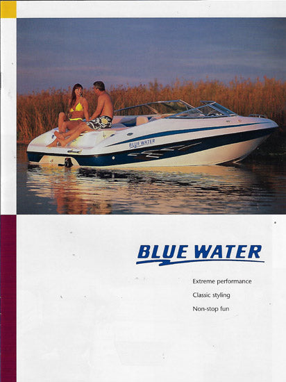 Bluewater 2001 Brochure