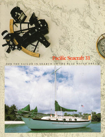 Pacific Seacraft 31 Brochure Package