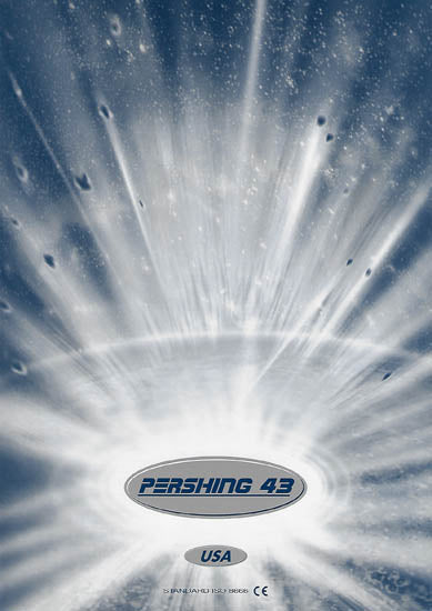 Pershing 43 USA Specification Brochure