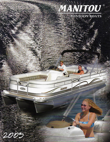 Manitou 2003 Pontoon Brochure