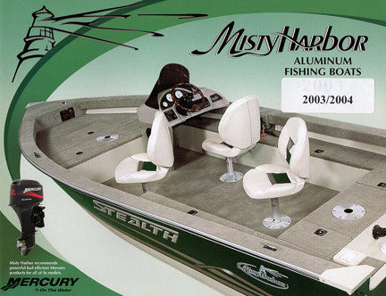 Misty Harbor 2003 Fishing Brochure