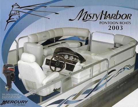 Misty Harbor 2003 Pontoon Brochure