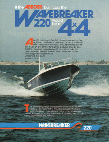Abbott Wavebraker 220 Brochure
