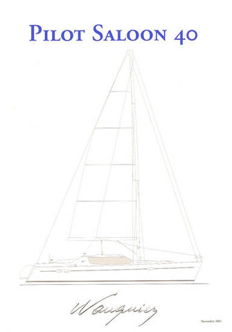 Wauquiez 40 Pilot Saloon Specification Brochure