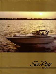 Sea Ray 1986 Full Line Brochure
