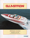 Glastron 1999 Abbreviated Brochure