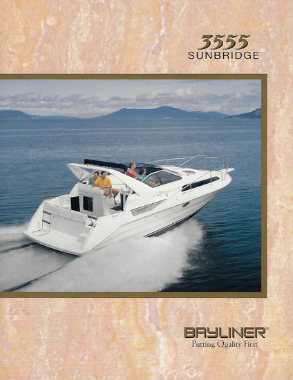 Bayliner 3555 Sunbridge Brochure