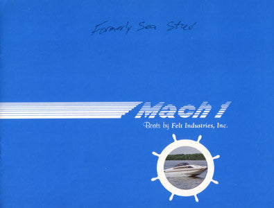 Mach 1 One 1980s Brochure